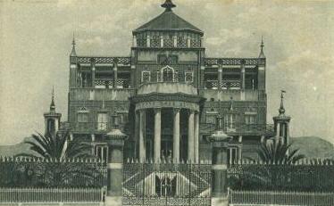 Palermo - Antica foto della Palazzina Reale Cinese