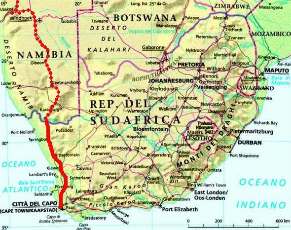 Cartina Giografica Africa.Cartina Geografica Mappa Del Sudafrica In Africa
