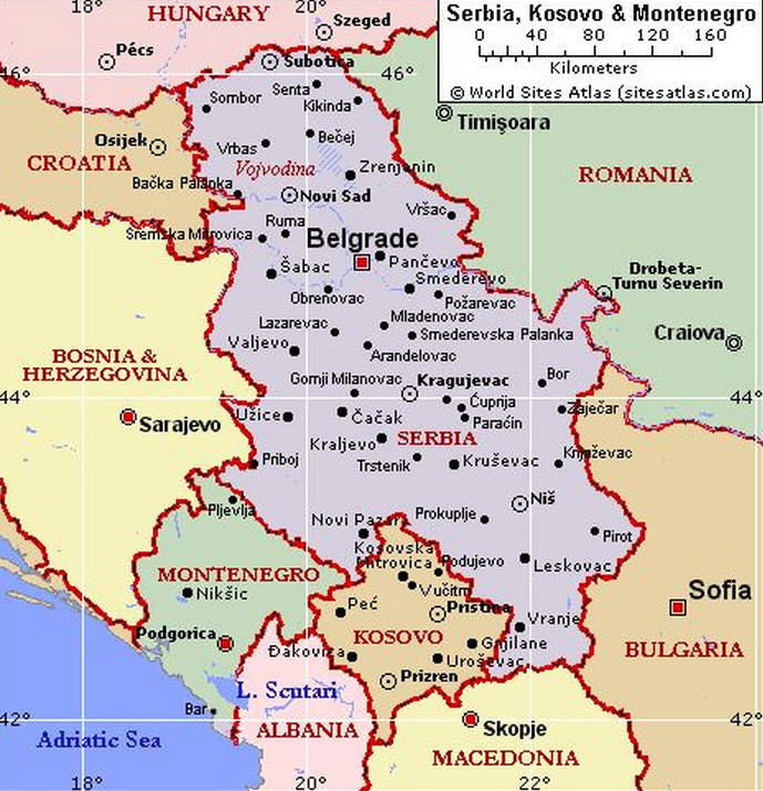 Albania Cartina Stradale.Cartina Geografica Del Montenegro Mappa O Carta Map Of Montenegro