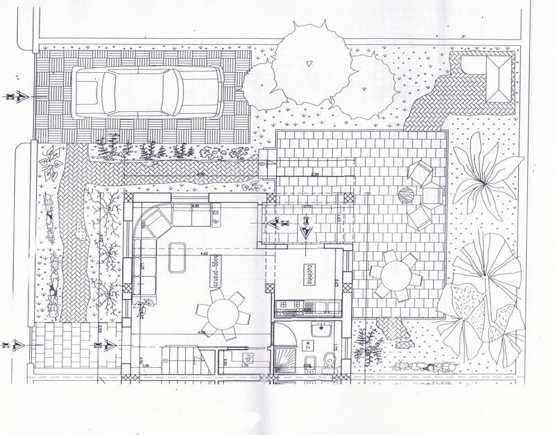 Planimetria del piano terra villa sul mare con piscina for Case in vendita con planimetrie